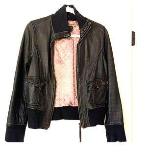 Vintage Italian leather jacket
